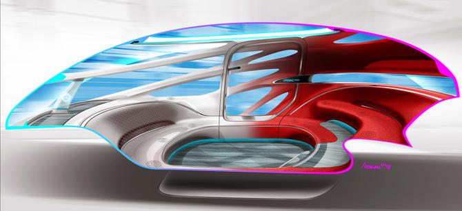 Vision Urbanetic: układanka z klocków Mercedesa [12]