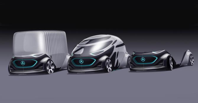 Vision Urbanetic: układanka z klocków Mercedesa [13]
