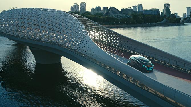 Vision Urbanetic: układanka z klocków Mercedesa [3]