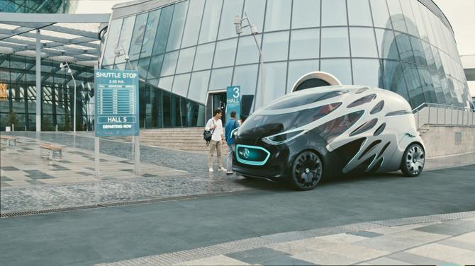 Vision Urbanetic: układanka z klocków Mercedesa [5]