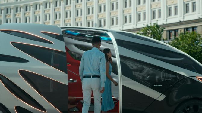 Vision Urbanetic: układanka z klocków Mercedesa [6]