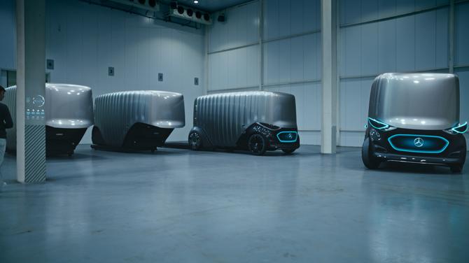 Vision Urbanetic: układanka z klocków Mercedesa [8]