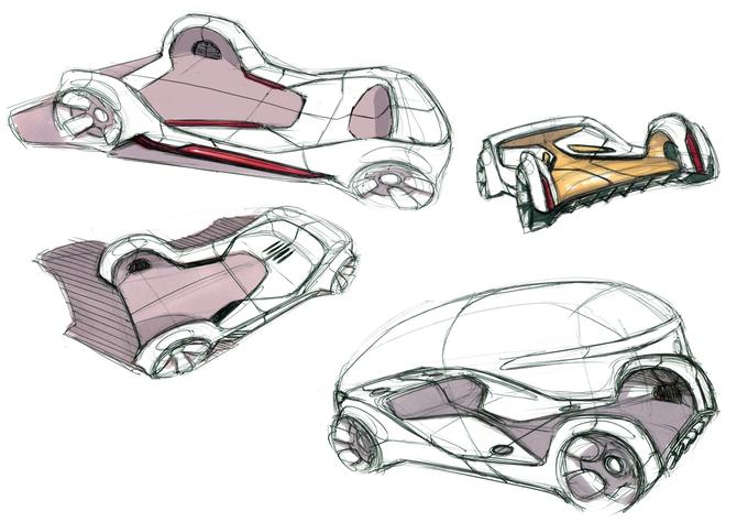 Vision Urbanetic: układanka z klocków Mercedesa [9]