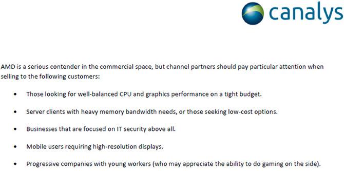 Canalys: za rok AMD może mieć szybsze procesory niż Intel [3]