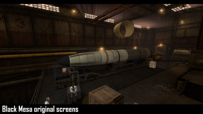 Project Lambda - Intro Half-Life odtworzone na silniku Unreal 4 [11]