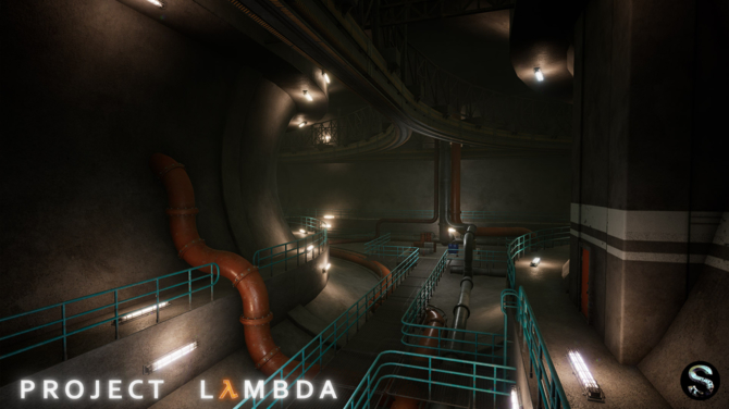 Project Lambda - Intro Half-Life odtworzone na silniku Unreal 4 [19]