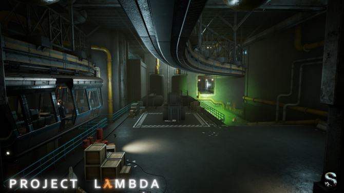 Project Lambda - Intro Half-Life odtworzone na silniku Unreal 4 [21]