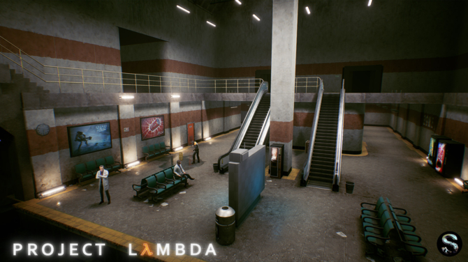 Project Lambda - Intro Half-Life odtworzone na silniku Unreal 4 [4]
