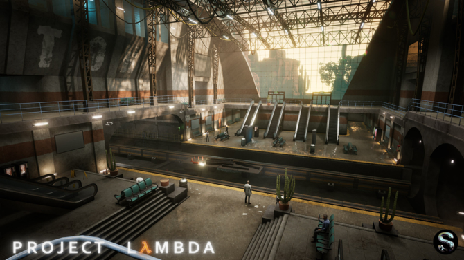 Project Lambda - Intro Half-Life odtworzone na silniku Unreal 4 [5]
