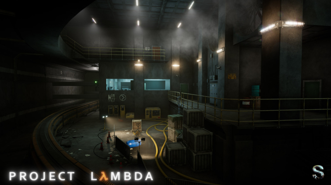 Project Lambda - Intro Half-Life odtworzone na silniku Unreal 4 [9]