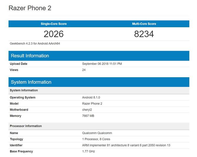 Razer Phone 2 - tak będzie wyglądał nowy smartfon dla graczy [2]