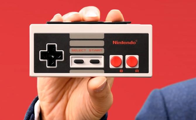 Nintendo sprzedaje nostalgię: Switch z kontrolerami NES-a [1]