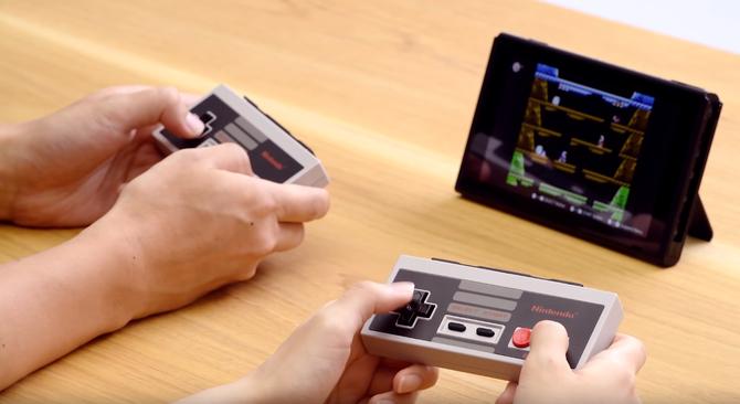 Nintendo sprzedaje nostalgię: Switch z kontrolerami NES-a [4]