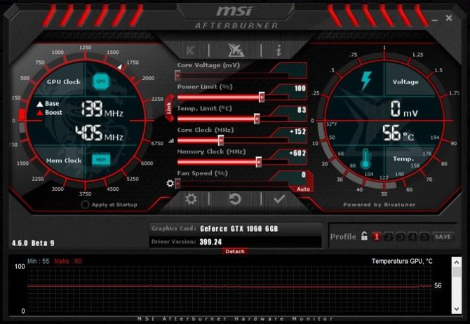 Nowy MSI Afterburner automatycznie podkręci nowe karty RTX [1]