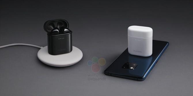 Huawei FreeBuds 2: słuchawki ładowane z baterii smartfona [1]