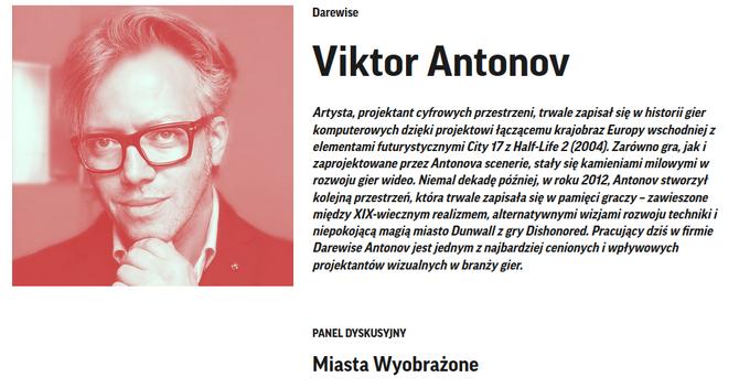 Digital Cultures: 24 i 25 września Viktor Antonov w Warszawie [2]