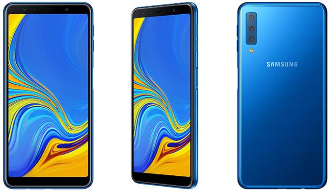 Samsung Galaxy A7 (2018) - nowy smartfon z potrójnym aparatem [1]