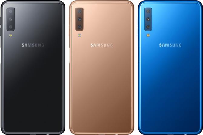 Samsung Galaxy A7 (2018) - nowy smartfon z potrójnym aparatem [2]