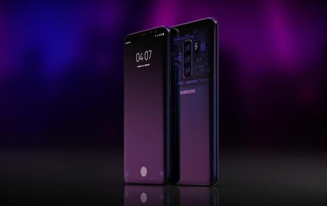 Samsung Galaxy S10 w trzech wersjach, jedna z płaskim ekranem [2]