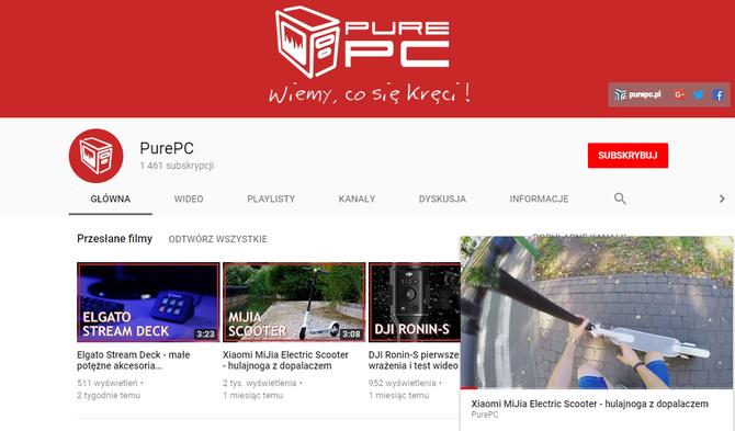 Miniodtwarzacz YouTube już dostępny dla użytkowników serwisu [2]
