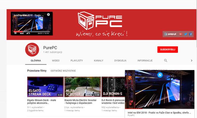 Miniodtwarzacz YouTube już dostępny dla użytkowników serwisu [3]