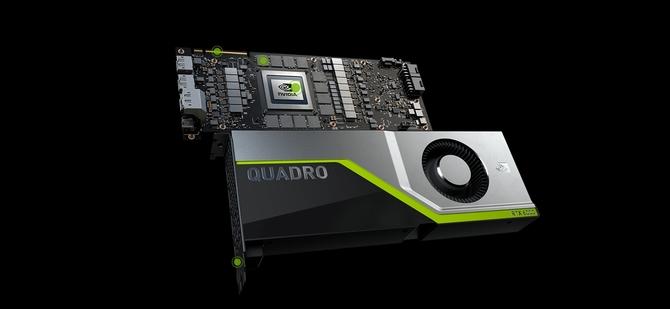 Nvidia Quadro RTX 6000 za 6300 dolarów w preorderze [1]