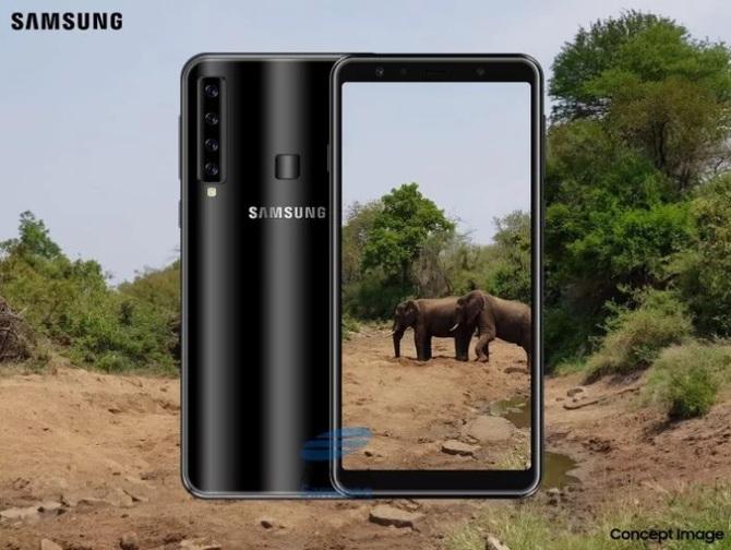 Samsung Galaxy A9s - smartfon z poczwórnym aparatem [1]