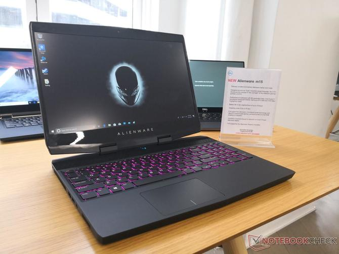 Alienware m15 - lekki laptop z wąskimi ramkami i GTX 1070 Max-Q [2]