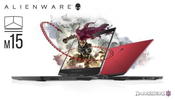 Alienware m15 - lekki laptop z wąskimi ramkami i GTX 1070 Max-Q [7]