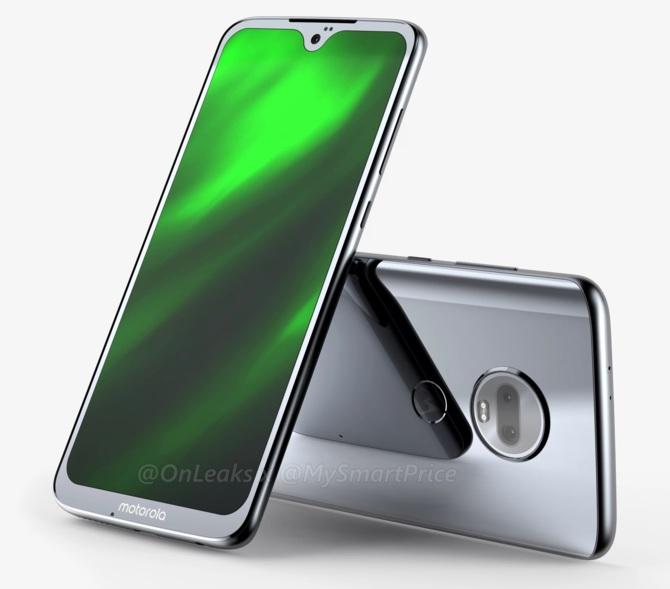 Motorola Moto G7 - są już pierwsze rendery smartfona [1]