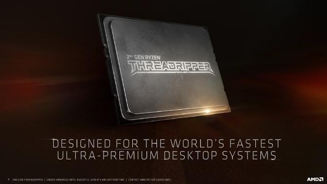 AMD Threadripper 2970WX i 2920X zadebiutują 29 października [2]