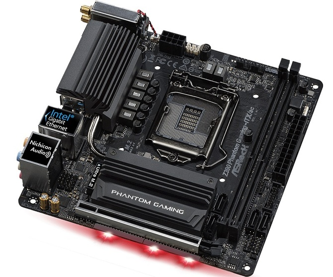ASRock Z390 Phantom Gaming-ITX/ac - mini płyta dla nowych Core [1]
