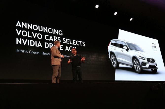 NVIDIA dostarczy zaawansowane SI samochodom Volvo [1]