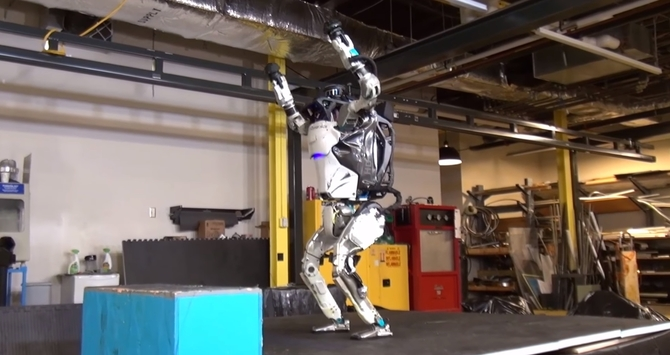 Boston Dynamics prezentuje najnowszego robota. Robi parkour [1]