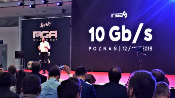 INEA wprowadza symetryczne łącze internetowe 10 Gb/s [2]