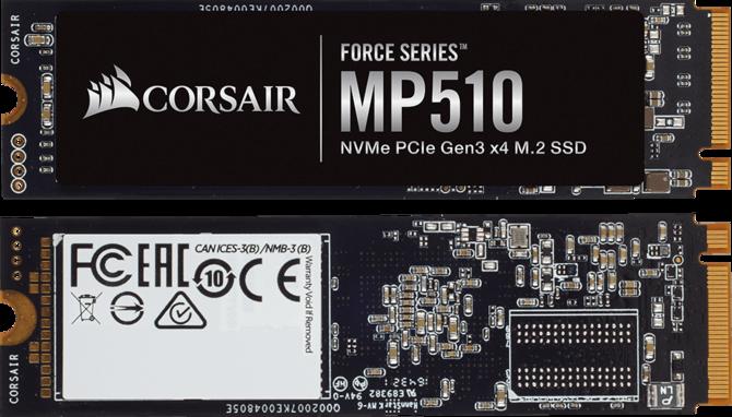 Corsair Force MP510 - nowa seria wydajnych dysków SSD [2]