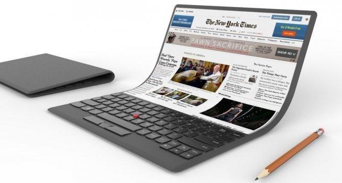 Składane tablety już za rogiem? LG dostarczy giętkie ekrany Lenovo [1]