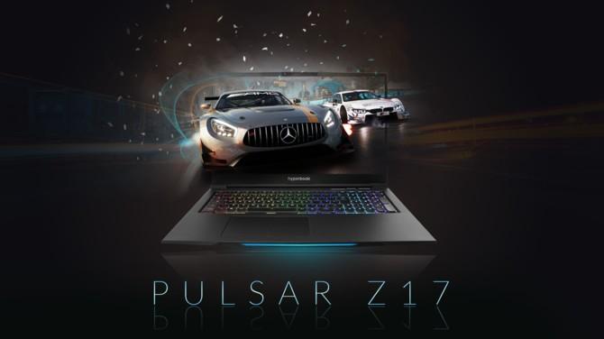 Hyperbook Pulsar Z17 - premiera nowego laptopa do gier i pracy [1]