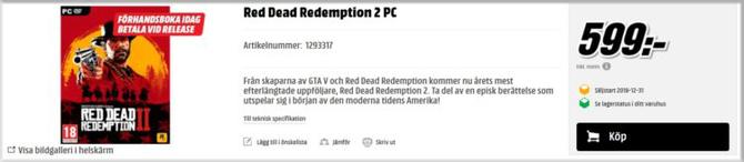 Red Dead Redemption 2: kolejna przesłanka o wersji na PC [4]