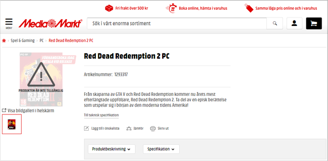 Red Dead Redemption 2: kolejna przesłanka o wersji na PC [5]