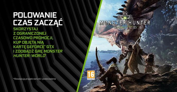 Monster Hunter World za darmo do wybranych kart GeForce GTX [1]