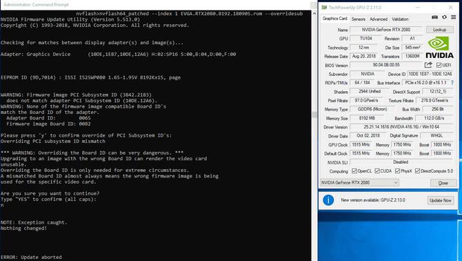 NVFlash - zmieniona wersja omija blokadę rozpoznania sprzętu [1]