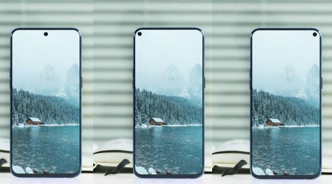 Samsung Galaxy A8s - zapowiedź smartfona z otworem w ekranie [2]