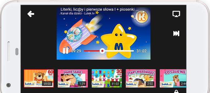 YouTube Kids: kanały filmowe specjalnie wybrane dla dzieci [3]