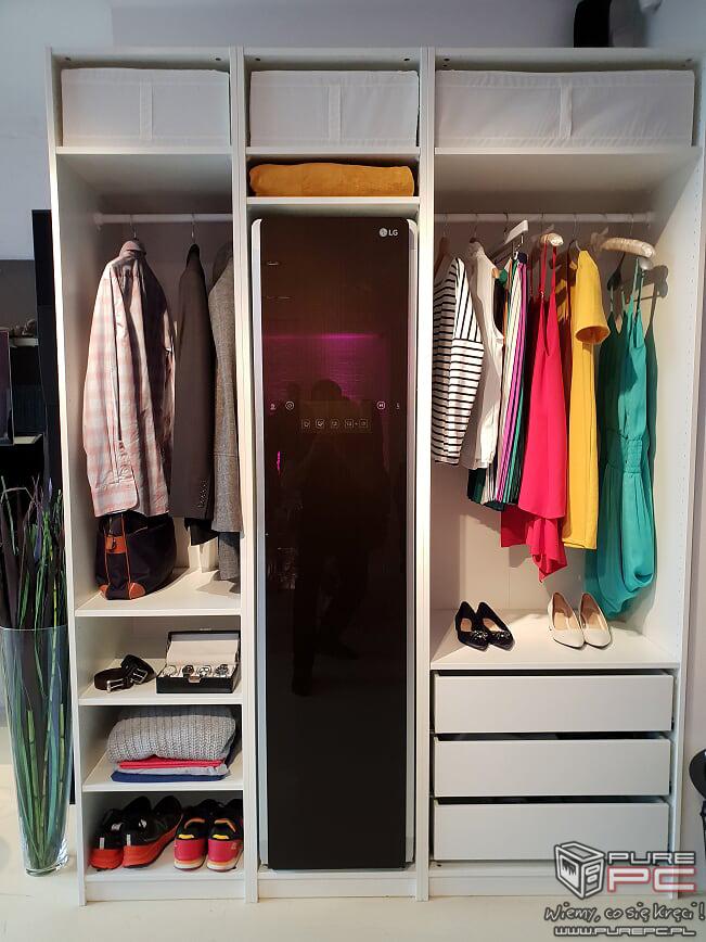 LG Styler: funkcjonalne szafy parowe już dostępne w Polsce [1]