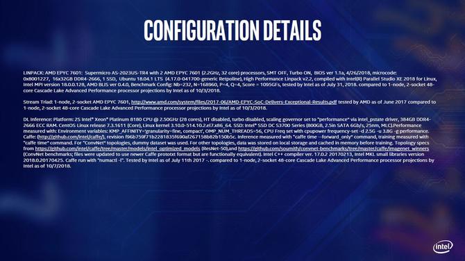 Intel prezentuje chipy Cascade Lake AP oraz nowe Xeony E-2100 [2]