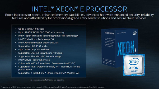 Intel prezentuje chipy Cascade Lake AP oraz nowe Xeony E-2100 [3]