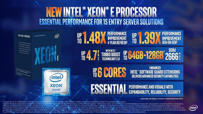 Intel prezentuje chipy Cascade Lake AP oraz nowe Xeony E-2100 [5]