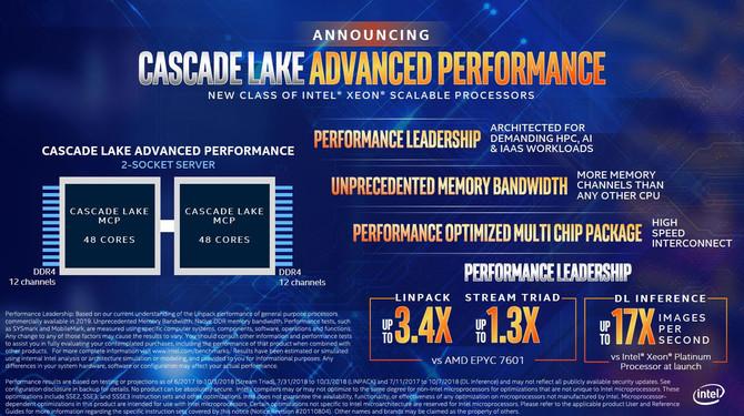 Intel prezentuje chipy Cascade Lake AP oraz nowe Xeony E-2100 [6]