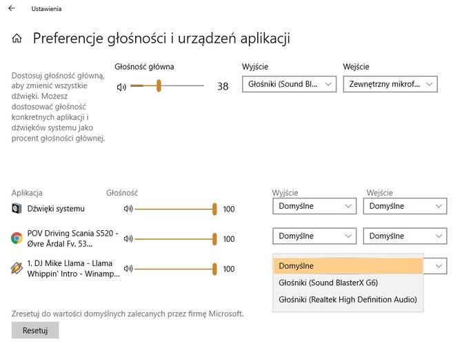 Windows 10 - nowy mikser audio zastąpi dotychczasowy [2]